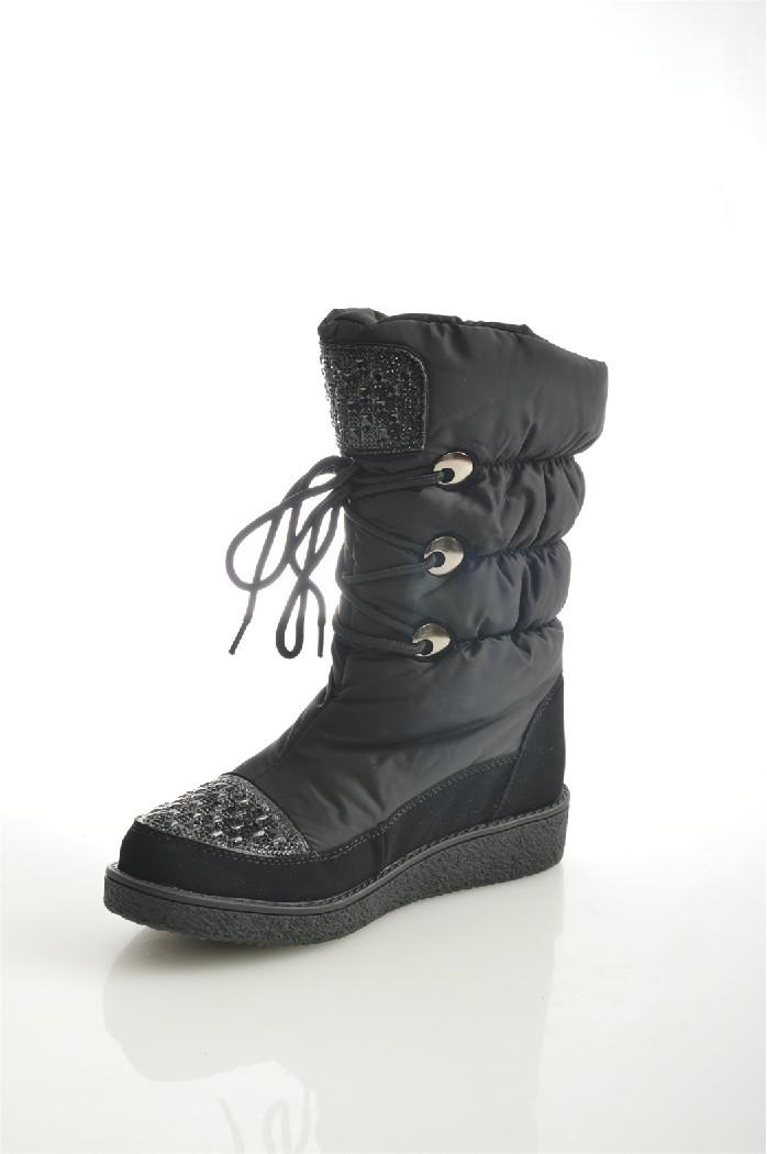 Дутики BadenЖенская обувь<br>Цвет: серый, черный<br> Состав: текстиль 100%<br> <br> Вид застежки: Шнуровка<br> Материал подкладки обуви: Шерсть<br> Обхват голенища: 39 см; Высота голенища: 22.5 см<br> Высота подошвы: 1.5 см; высота платформы: 1.5 см<br> Материал подошвы обуви: ТЭП (термоэластопласт)<br> Материал стельки: шерсть<br> Сезон: зима<br> <br> Страна бренда: Россия<br> Страна производитель: Китай<br><br>Высота платформы: 1.5 см<br>Объем голени: 39 см<br>Высота голенища / задника: 22 см<br>Материал: Текстиль<br>Сезон: ЗИМА<br>Коллекция: Осень-зима<br>Пол: Женский<br>Возраст: Взрослый<br>Цвет: Черный<br>Размер RU: 38