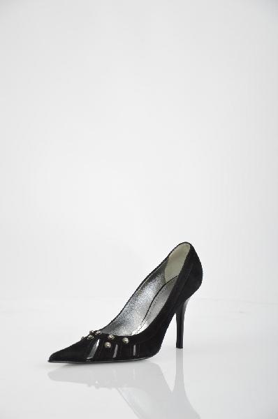Туфли GiottoЖенская обувь<br>Цвет: чёрный<br> Материал верха: замша натуральная<br> Материал подкладки: кожа натуральная<br> Материал стельки: кожа натуральная<br> Материал подошвы: кожа натуральная, профилактика<br> Параметры изделия: для размера 38/38: толщина подошвы 0,5 см, ширина носка стельки 8,3 см<br> Страна: Италия<br><br>Материал: Натуральная замша<br>Сезон: ЛЕТО<br>Коллекция: Весна-лето<br>Пол: Женский<br>Возраст: Взрослый<br>Цвет: Черный<br>Размер RU: 38