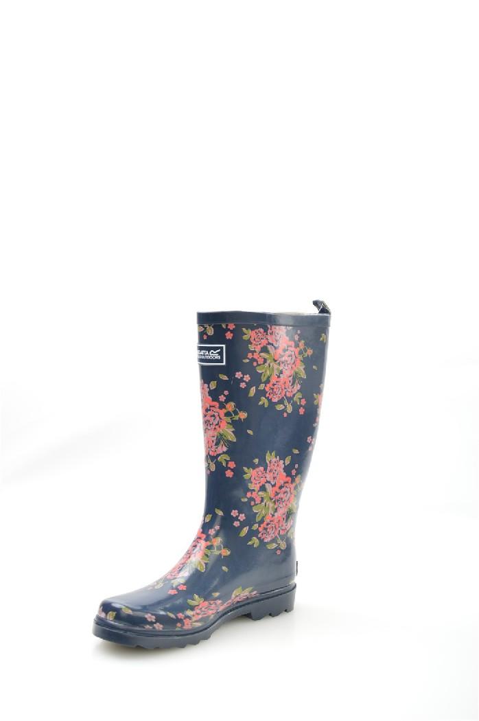Резиновые сапоги REGATTAЖенская обувь<br>Цвет: темно-синий, светло-зеленый, розовый<br> Состав: резина 100%<br> <br> Материал подкладки обуви: Хлопок<br> Голенище: Высота голенища: 31 см; Обхват голенища: 38 см<br> Габариты предмета (см): высота платформы: 2 см; высота подошвы: 1.5 см; высота каблука: 2.5 см<br> Материал подкладки: полиэстер: 100 %<br> Материал подошвы обуви: резина<br> Материал стельки: текстиль; искусственный материал<br> Сезон: демисезон<br> Пол: Женский<br> <br> Страна: Соединенное Королевство<br><br>Высота каблука: 2.5 см<br>Высота платформы: 2 см<br>Объем голени: 38 см<br>Высота голенища / задника: 30 см<br>Материал: Резина<br>Сезон: ВЕСНА/ОСЕНЬ<br>Коллекция: Весна-лето<br>Пол: Женский<br>Возраст: Взрослый<br>Цвет: Разноцветный<br>Размер RU: 38