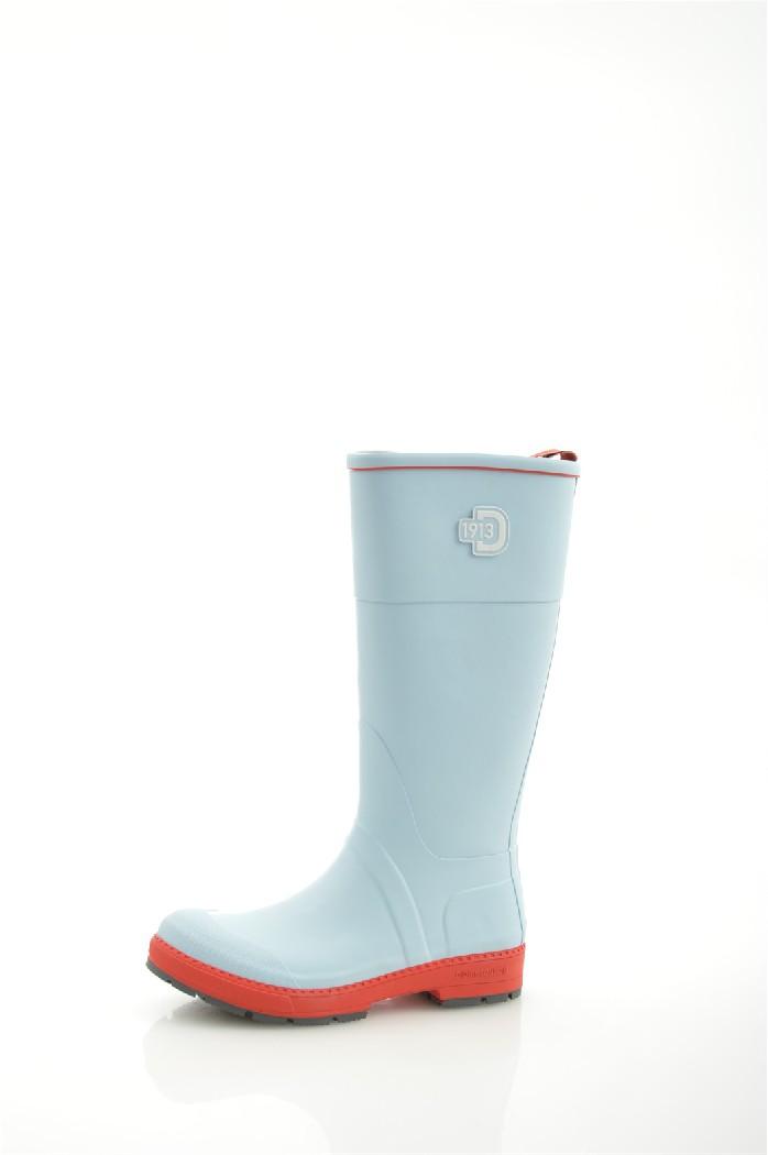Резиновые сапоги DIDRIKSONSЖенская обувь<br>Цвет: светло-голубой<br> Состав: каучук 100%<br> <br> Материал подкладки обуви: Полиэстер<br>Высота голенища: 33 см<br>Обхват голенища: 36 см<br>Высота каблука: 3.5 см; высота подошвы: 2 см<br> Материал подошвы обуви: каучук<br> Материал стельки: текстиль<br>Сезон: демисезон<br><br> Страна бренда: Швеция<br><br>Высота каблука: 3.5 см<br>Высота платформы: 2 см<br>Объем голени: 36 см<br>Высота голенища / задника: 33 см<br>Материал: Каучук<br>Сезон: ВЕСНА/ОСЕНЬ<br>Коллекция: Весна-лето<br>Пол: Женский<br>Возраст: Взрослый<br>Цвет: Голубой<br>Размер RU: 38