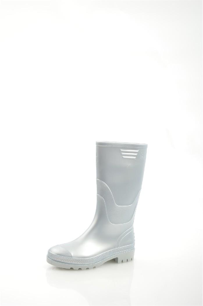 Резиновые сапоги JUJUЖенская обувь<br>Прочный верх цвета металлик: серый<br> Протирать влажной тканевой салфеткой<br> <br> Подкладка: 100% полиуретан. Стелька: 100% полиуретан. Верх: 100% полиуретан.<br> <br>Страна: Великобритания<br><br>Материал: Полиуретан<br>Сезон: ВЕСНА/ОСЕНЬ<br>Коллекция: Весна-лето<br>Пол: Женский<br>Возраст: Взрослый<br>Цвет: Светло-серый<br>Размер RU: 38