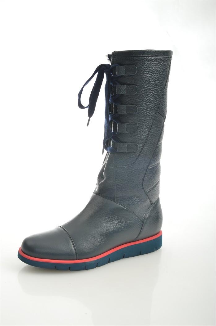 Сапоги GIOTTOЖенская обувь<br>Цвет: темно-синий<br> Состав: натуральная кожа 100%<br> <br> Материал подкладки обуви: натуральный мех<br> Голенище: Обхват голенища: 38 см; Высота голенища: 42 см<br> Габариты предмета (см): высота платформы: 3 см<br> Материал подошвы обуви: искусственный материал<br> Материал стельки: натуральный мех<br> Вид каблука: без каблука<br> Форма мыска: круглый<br> Вид мыска: закрытый<br> Сезон: круглогодичный<br> <br> Страна бренда: Россия<br> Страна производитель: Россия<br><br>Высота платформы: 3 см<br>Объем голени: 38 см<br>Высота голенища / задника: 42 см<br>Материал: Натуральная кожа<br>Сезон: МУЛЬТИ<br>Коллекция: Осень-зима<br>Пол: Женский<br>Возраст: Взрослый<br>Цвет: Темно-синий<br>Размер RU: 37