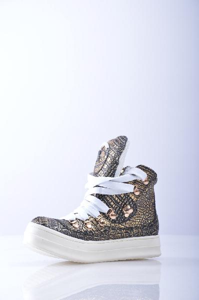 Кеды JEFFREY CAMPBELLЖенская обувь<br>Материал: Эффект ламинирования, без аппликаций, двухцветный узор, шнуровка, скругленный носок, резиновая подошва, без каблука.<br>Страна: США<br><br>Высота каблука: Без каблука<br>Материал: Натуральная кожа<br>Сезон: ЛЕТО<br>Коллекция: (Справочник &quot;Номенклатура&quot; (Общие)): Весна-лето<br>Пол: Женский<br>Возраст: Взрослый<br>Цвет: Коричневый<br>Размер RU: 37