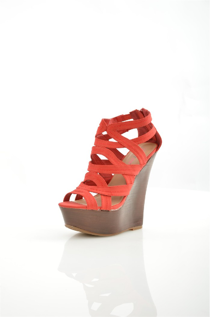 Босоножки JUSTFABЖенская обувь<br>Цвет: красный<br> Состав: искусственная кожа<br> Параметры изделия: высота каблука - 13 см, высота платформы - 4,5 см<br> <br> Страна дизайна: США<br><br>Высота каблука: 13 см<br>Высота платформы: 4.5 см<br>Материал: Искусственная кожа<br>Сезон: ЛЕТО<br>Коллекция: (Справочник &quot;Номенклатура&quot; (Общие)): Весна-лето<br>Пол: Женский<br>Возраст: Взрослый<br>Цвет: Красный<br>Размер RU: 38