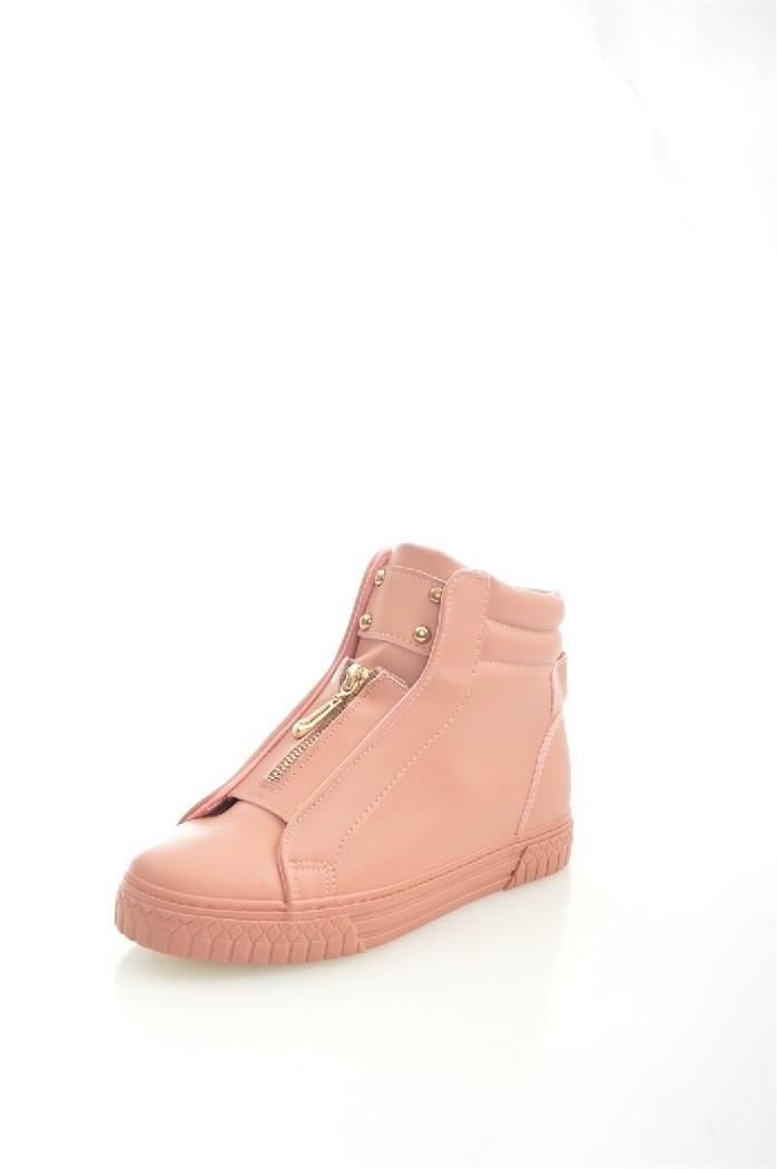 Кеды WellspringЖенская обувь<br>Материал верха: искусственная кожа<br> Внутренний материал: текстиль<br> Материал подошвы: полимер<br> Материал стельки: текстиль<br> Сезон: демисезон<br> Цвет: розовый<br> Застежка: на молнии<br> Цвет фурнитуры: золотой<br> <br> Страна: КНР<br><br>Материал: Искусственная кожа<br>Сезон: ВЕСНА/ОСЕНЬ<br>Коллекция: Весна-лето<br>Пол: Женский<br>Возраст: Взрослый<br>Цвет: Розовый<br>Размер RU: 38
