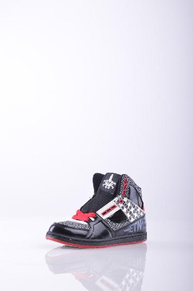 Кеды ETNIESЖенская обувь<br>Материал: Текстильное волокно, эффект полировки, разноцветный узор, шнуровка, скругленный носок, контрастные аппликации, логотип, резиновая подошва с тиснением, без каблука<br>Страна: США<br><br>Высота каблука: Без каблука<br>Материал: Натуральная кожа<br>Сезон: МУЛЬТИ<br>Коллекция: Весна-лето<br>Пол: Женский<br>Возраст: Взрослый<br>Цвет: Черный<br>Размер RU: 35.5