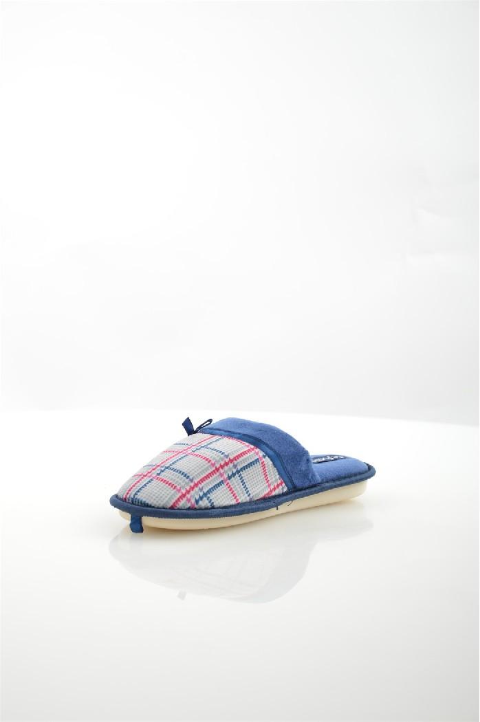 Тапочки De FonsecaЖенская обувь<br>Цвет: темно-синий<br> Состав: текстиль 100%<br> <br> Материал подкладки: Текстиль<br> Габариты предмета: высота платформы: 1 см; высота каблука: 1 см; высота подошвы: 1 см<br> Материал подошвы: резина<br> Материал стельки: текстиль<br> <br> Страна бренда: Италия<br><br>Высота платформы: 1 см<br>Материал: Текстиль<br>Сезон: МУЛЬТИ<br>Коллекция: Весна-лето<br>Пол: Женский<br>Возраст: Взрослый<br>Цвет: Разноцветный<br>Размер RU: 40/41