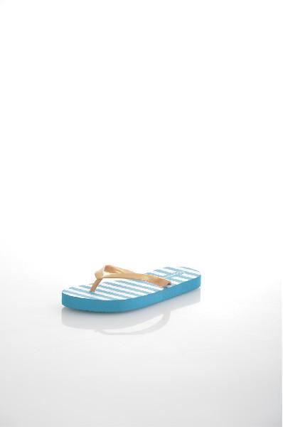 Шлепанцы GulliverОбувь для девочек<br>Цвет: желтый<br> Материал верха: ПВХ<br> Материал подошвы: ЭВА<br> Описание: резиновая обувь для пляжа с интересным принтом на тему из коллекции Жемчужная пристань.<br> Страна: Россия<br><br>Материал: ПВХ<br>Сезон: ЛЕТО<br>Коллекция: Весна-лето<br>Пол: Женский<br>Возраст: Детский<br>Цвет: Голубой<br>Размер RU: 33