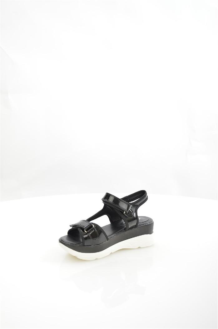 Босоножки AvenirЖенска обувь<br>Материал верха: искусственна лакова кожа<br> Внутренний материал: искусственна кожа<br> Материал подошвы: полимер<br> Материал стельки: искусственна кожа<br> Высота каблука: 5 см<br> Высота платформы: 3 см<br> Сезон: лето<br> Цвет: черный<br> Застежка: на липучках<br> <br> Страна: Росси<br><br>Высота каблука: 5 см<br>Высота платформы: 3 см<br>Материал: Искусственна кожа<br>Сезон: ЛЕТО<br>Коллекци: Весна-лето<br>Пол: Женский<br>Возраст: Взрослый<br>Цвет: Черный<br>Размер RU: 37