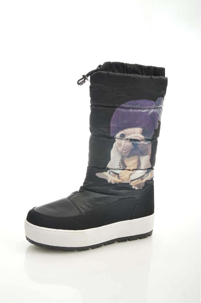 Дутики SpurЖенская обувь<br>Цвет: черный<br> Состав: искусственная кожа,текстиль<br> <br> Материал подкладки обуви: искусственный мех<br> Голенище: Обхват голенища: 39 см; Высота голенища: 28 см<br> Габариты предмета (см): высота подошвы; высота платформы: 3 см<br> Материал подошвы обуви: резина<br> Материал стельки: искусственный мех<br> Форма мыска: круглый<br> Назначение обуви: повседневная<br> Вид мыска: закрытый<br> Сезон: зима<br> <br> Страна: Россия<br><br>Высота каблука: 3 см<br>Объем голени: 39 см<br>Высота голенища / задника: 27.5 см<br>Материал: Искусственная кожа<br>Сезон: ЗИМА<br>Коллекция: Осень-зима<br>Пол: Женский<br>Возраст: Взрослый<br>Цвет: Черный<br>Размер RU: 37