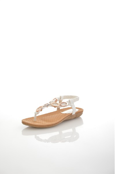 Сандалии AmazongaЖенская обувь<br>Цвет: белый<br> Состав: искусственная кожа<br> <br> Высота платформы: Низкая: 1.2 см<br> Материал верха: Искусственный материал<br> Материал стельки: Искусственная кожа: 100 %<br> Материал подошвы: Резина: 100 %<br> Материал подкладки: Искусственный материал; искусственная кожа: 100 %<br> Форма мыска: Закругленный мысок<br> Вид застежки: Без застежки<br> Форма каблука: Танкетка<br> Особенность материала верха: Матовый<br> Декоративные элементы: без элементов<br> Высота каблука: Высота: 1 см<br> Материал подошвы обуви: резина<br> Материал стельки обуви: искусственный материал<br> Сезон: лето<br> Пол: Женский<br> Страна: Россия<br><br>Высота каблука: 1 см<br>Высота платформы: 1.2 см<br>Материал: Искусственная кожа<br>Сезон: ЛЕТО<br>Коллекция: Весна-лето<br>Пол: Женский<br>Возраст: Взрослый<br>Цвет: Белый<br>Размер RU: 38