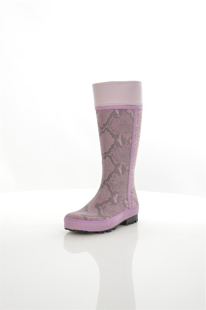 Резиновые сапоги ЗебраЖенска обувь<br>Цвет: сиреневый, серый<br> Состав: резина, искусственный каучук<br> <br> Материал верха: Резина<br> Высота платформы: Низка: 1 см<br> Материал стельки: Текстиль<br> Материал подошвы: Резина<br> Материал подкладки обуви: Текстиль<br> Форма мыска: Закругленный мысок<br> Голенище: Высота голенища: 36 см; Обхват голенища: 33 см<br> Форма каблука: Каблук-кирпичик<br> Особенности материала верха: Матовый<br> Декоративные лементы: принт<br> Сезон: демисезон<br> Пол: Девочки<br> Страна: Росси<br><br>Высота платформы: 1 см<br>Объем голени: 33 см<br>Высота голенища / задника: 36 см<br>Материал: Резина<br>Сезон: ВЕСНА/ОСЕНЬ<br>Коллекци: Весна-лето<br>Пол: Женский<br>Возраст: Взрослый<br>Цвет: Разноцветный<br>Размер RU: 38