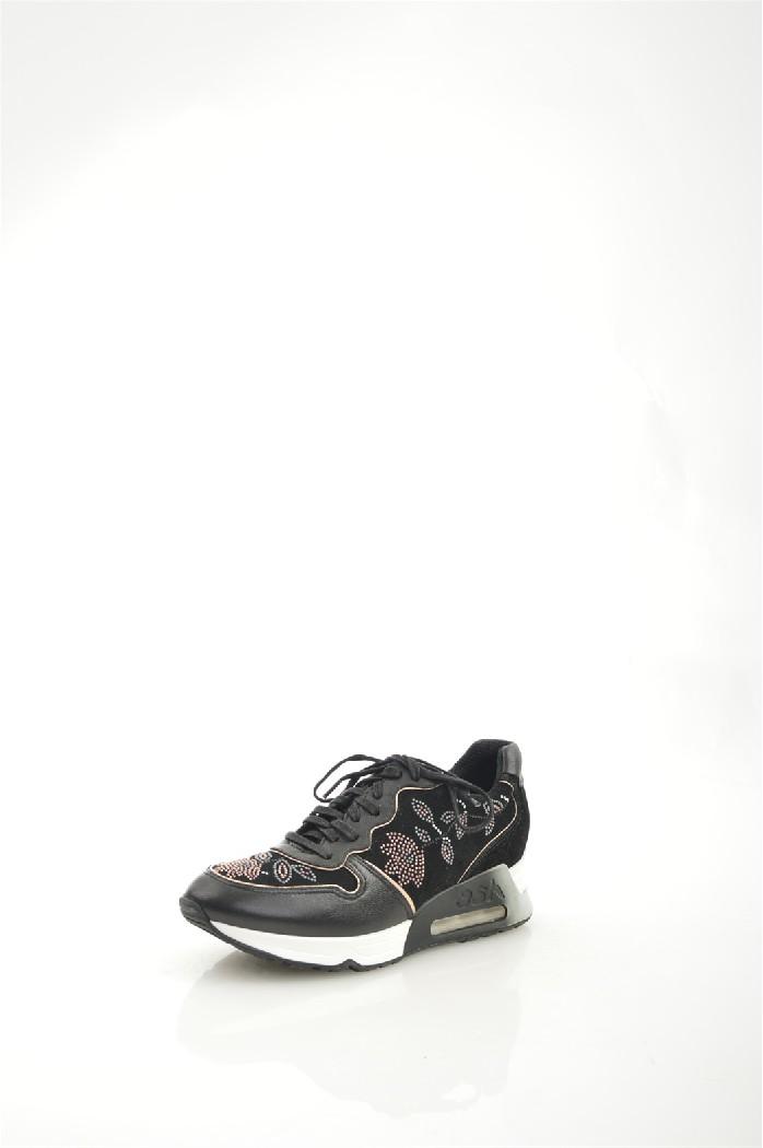 Кроссовки ASHЖенская обувь<br>Материал верха: искусственная замша, искусственная кожа<br> Внутренний материал: текстиль<br> Материал подошвы: полимер<br> Материал стельки: текстиль<br> Высота голенища / задника: 7 см<br> Сезон: демисезон<br> Цвет: черный<br> <br> Страна: Италия<br><br>Высота голенища / задника: 7 см<br>Материал: Искусственная кожа<br>Сезон: ВЕСНА/ОСЕНЬ<br>Коллекция: Весна-лето<br>Пол: Женский<br>Возраст: Взрослый<br>Цвет: Черный<br>Размер RU: 37
