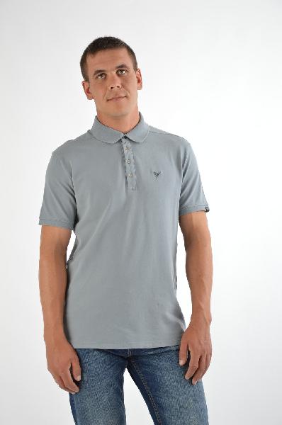 Футболка-поло, GUESSТопы, майки, футболки<br>Состав: хлопок 95%, эластан 5%<br><br>Замечательная футболка-поло, выполненная из качественного материала. Изделие с короткими рукавами. Отличный вариант на каждый день.<br>Вид застежки    Пуговицы<br>Воротник    Поло<br>Длина рукава    Короткие, 21.0 см<br>Габариты предметов    Длина, 73.0 см<br>Ширина рукава    Пройма, 21.0 см<br>Покрой    Прямой<br>Фактура материала    Трикотажный<br>Декоративные элементы    Логот<br><br>Материал: Хлопок<br>Сезон: ЛЕТО<br>Коллекция: Весна-лето<br>Пол: Мужской<br>Возраст: Взрослый<br>Цвет: Серый<br>Размер INT: L