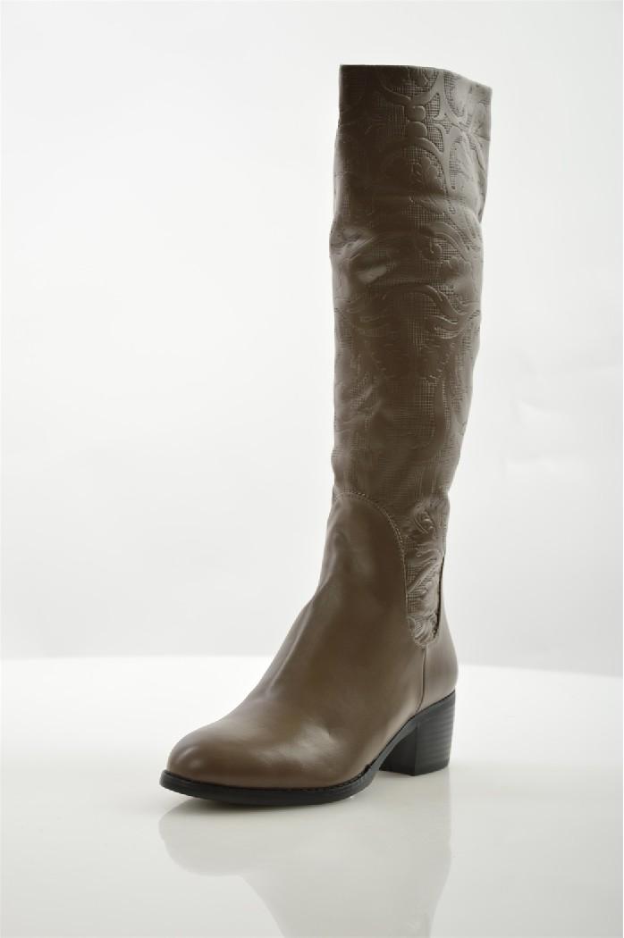 Сапоги ITEMBLACKЖенская обувь<br>Цвет: серый<br> Материал верха: экокожа<br> Материал подкладки: искусственный мех<br> Материал стельки: искусственный мех<br> Материал подошвы: полиуретан<br> Уход за изделием: протирать губкой<br> <br> Страна: Италия<br><br>Материал: Эко-кожа<br>Сезон: ЗИМА<br>Коллекция: Осень-зима<br>Пол: Женский<br>Возраст: Взрослый<br>Цвет: Темно-серый<br>Размер RU: 38