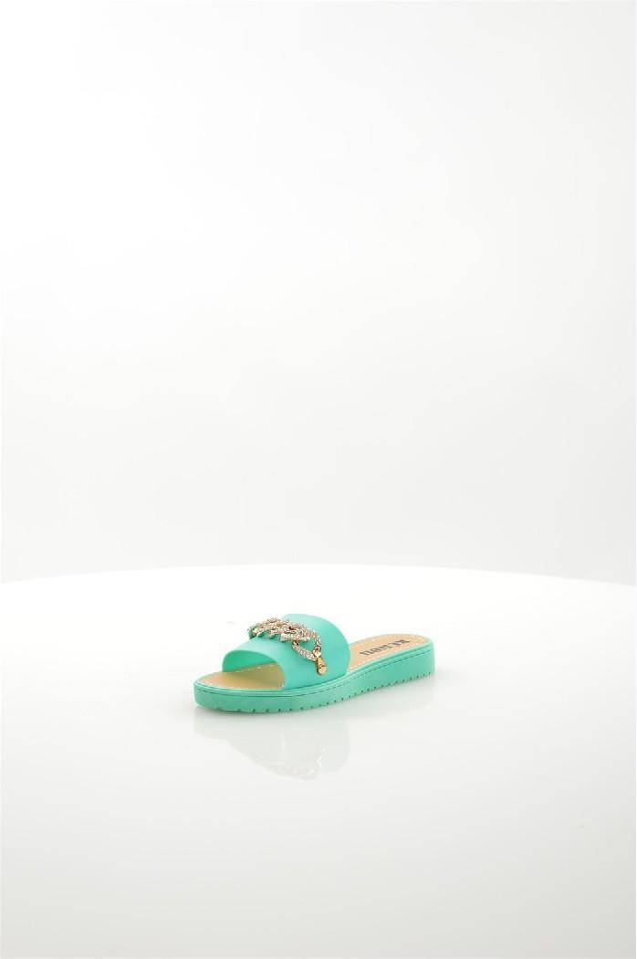 Шлепанцы KEDDOЖенская обувь<br>Цвет: зеленый<br> Состав: ПВХ 100%<br> <br> Материал подошвы: Полимер<br> Вид застежки: Без застежки<br> Материал подкладки: без подкладки<br> Высота обуви: низкие<br> Вид каблука: без каблука<br> Назначение обуви: повседневная<br> Вид мыска: открытый<br> Сезон: лето<br> Страна: Великобритания<br><br>Высота каблука: Без каблука<br>Материал: ПВХ<br>Сезон: ЛЕТО<br>Коллекция: Весна-лето<br>Пол: Женский<br>Возраст: Взрослый<br>Цвет: Бирюзовый<br>Размер RU: 36