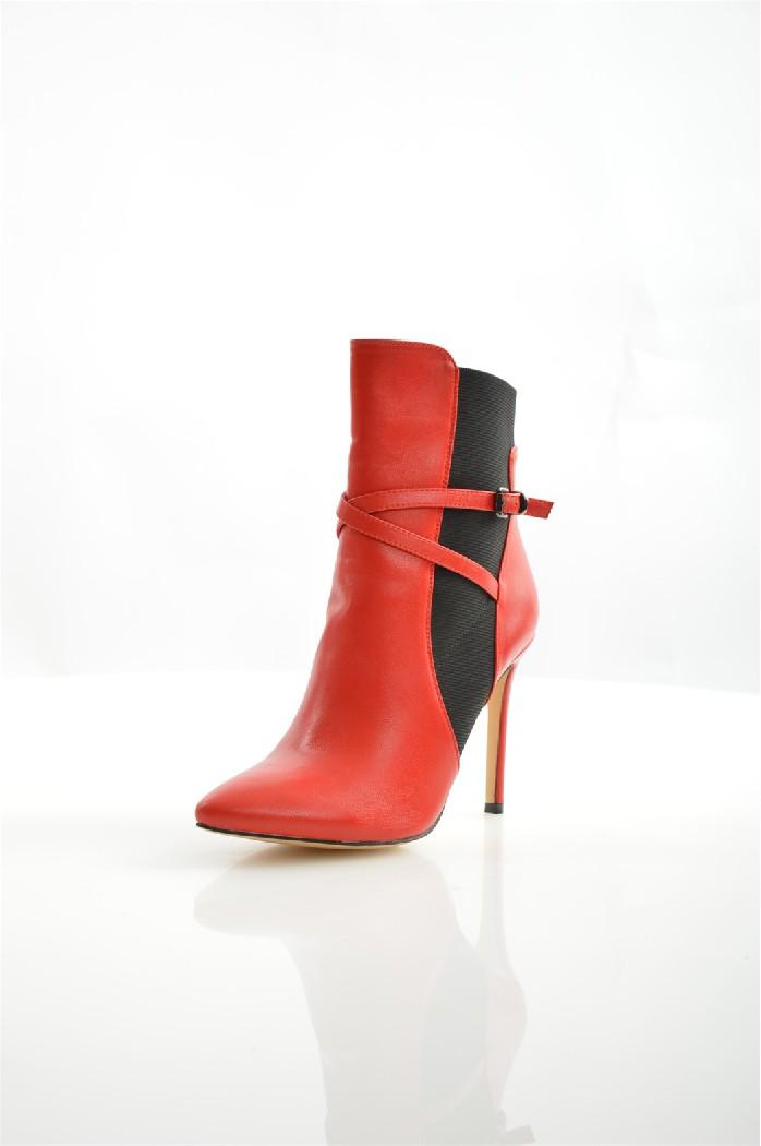 Полусапожки Best&amp;BestЖенская обувь<br>Цвет: красный<br> Состав: экокожа 100%<br> <br> Вид застежки: Эластичная вставка<br> Материал подкладки обуви: Байка<br> Габариты предмета: высота каблука: 10.5 см; высота платформы: 0.2 см; высота подошвы: 0.2 см<br> Материал подошвы обуви: тунит<br> Материал стельки: байка<br> Сезон: круглогодичный<br> <br> Страна: Россия<br><br>Высота каблука: 10.5 см<br>Высота платформы: 0.2 см<br>Материал: Эко-кожа<br>Сезон: ВЕСНА/ОСЕНЬ<br>Коллекция: Весна-лето<br>Пол: Женский<br>Возраст: Взрослый<br>Цвет: Красный<br>Размер RU: 38