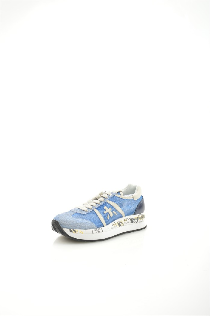 Кроссовки PremiataЖенская обувь<br>Цвет: голубой<br> Материал: Металлизированный текстиль Натуральная кожа<br> Высота платформы: 3 см<br> <br> Страна: Италия<br> <br>Товар сертифицирован<br><br>Высота платформы: 3 см<br>Материал: Натуральная кожа<br>Сезон: ВЕСНА/ОСЕНЬ<br>Коллекция: Весна-лето<br>Пол: Женский<br>Возраст: Взрослый<br>Цвет: Голубой<br>Размер RU: 38