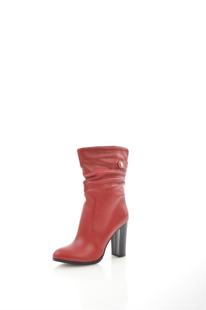Полусапожки HAVINЖенская обувь<br>Цвет: красный<br> Состав: экокожа 100%<br> <br> Вид застежки: Молния<br> Материал подкладки обуви: Байка<br> Голенище: Обхват голенища: 34 см; Высота голенища: 19 см<br> Габариты предмета (см): высота каблука: 10 см; высота платформы: 1 см; высота подошвы: 1 см<br> Материал подошвы обуви: тунит<br> Материал стельки: байка<br> Сезон: демисезон<br><br>Высота каблука: 10 см<br>Высота платформы: 1 см<br>Объем голени: 34 см<br>Высота голенища / задника: 19.5 см<br>Материал: Эко-кожа<br>Сезон: ВЕСНА/ОСЕНЬ<br>Коллекция: Осень-зима<br>Пол: Женский<br>Возраст: Взрослый<br>Цвет: Красный<br>Размер RU: 38