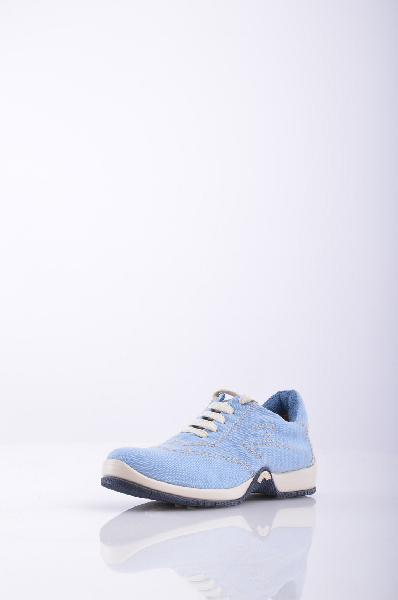 Кеды 9.2 BY CARLO CHIONNAЖенская обувь<br>Материал: парусина, вышивка, логотип, одноцветное изделие, шнуровка, скругленный носок, резиновая подошва<br>Страна: Италия<br><br>Высота каблука: Без каблука<br>Материал: Текстильное волокно<br>Сезон: ЛЕТО<br>Коллекция: Весна-лето<br>Пол: Женский<br>Возраст: Взрослый<br>Цвет: Голубой<br>Размер RU: 37