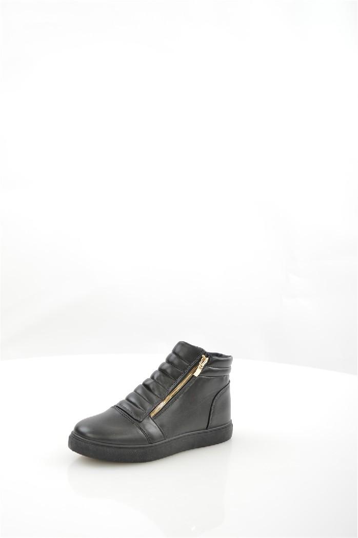 Кеды ClowseЖенская обувь<br>Детали: две застежки на молнии, уплотненное голенище, резиновая подошва.<br> <br> Материал верха: искусственная кожа<br> Внутренний материал: текстиль<br> Материал подошвы: резина<br> Материал стельки: текстиль<br> Высота голенища / задника: 9 см<br> Сезон демисезон<br> Цвет черный<br> Цвет фурнитуры золотой<br><br>Высота каблука: Без каблука<br>Высота голенища / задника: 9 см<br>Материал: Искусственная кожа<br>Сезон: ВЕСНА/ОСЕНЬ<br>Коллекция: Весна-лето<br>Пол: Женский<br>Возраст: Взрослый<br>Цвет: Черный<br>Размер RU: 37