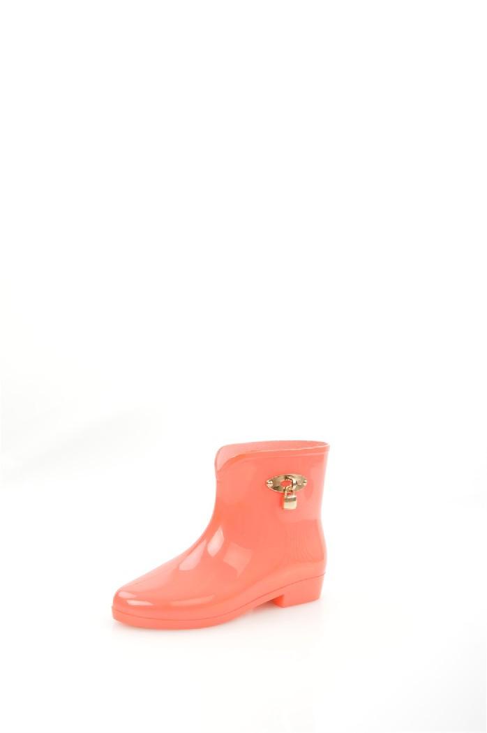 Резиновые полусапоги IdealЖенская обувь<br>Детали: мягкая съемная стелька, декор золотистым замочком.<br> Материал верха: резина<br> Внутренний материал: без подкладки<br> Материал подошвы: резина<br> Материал стельки: полимер<br> Высота голенища / задника: 14 см<br> Сезон: демисезон<br> Цвет: коралловый<br> Цвет фурнитуры: золотой<br> <br> Страна: Россия<br><br>Высота каблука: 2.5 см<br>Высота голенища / задника: 14 см<br>Материал: Резина<br>Сезон: ВЕСНА/ОСЕНЬ<br>Коллекция: Весна-лето<br>Пол: Женский<br>Возраст: Взрослый<br>Цвет: Коралловый<br>Размер RU: 39