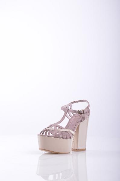 Босоножки OSEYЖенская обувь<br>Описание: алькантара, одноцветное изделие, боковая пряжка, скругленный носок, без аппликаций, резиновая подошва, квадратный каблук. <br><br>Высота каблука: 12.5 см. <br>Высота платформы: 5 см <br><br>Страна: Турция<br><br>Высота каблука: 12.5 см<br>Высота платформы: 5 см<br>Материал: Текстильное волокно<br>Сезон: ЛЕТО<br>Коллекция: Весна-лето<br>Пол: Женский<br>Возраст: Взрослый<br>Цвет: Розовый<br>Размер RU: 38