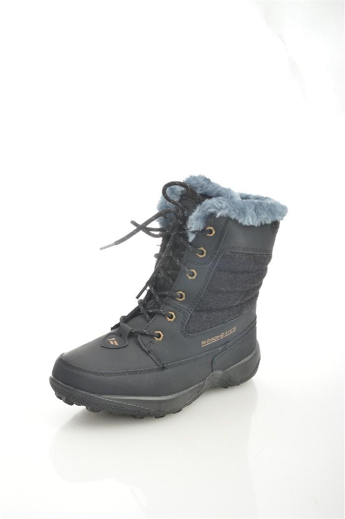 Дутики SAYOTAЖенская обувь<br>Цвет: черный<br> Состав: текстиль 100%<br> <br> Вид застежки: Шнуровка<br> Материал подкладки обуви: искусственный мех<br> Голенище: Высота голенища: 16 см; Обхват голенища: 25 см<br> Материал подошвы обуви: ТПР<br> Материал стельки: искусственный мех<br> Форма мыска: круглый<br> Вид мыска: закрытый<br> Высота подошвы: 2 см<br> Сезон: зима<br> <br> Страна: КНР<br><br>Высота платформы: 2 см<br>Объем голени: 25 см<br>Высота голенища / задника: 16 см<br>Материал: Текстиль<br>Сезон: ЗИМА<br>Коллекция: Осень-зима<br>Пол: Женский<br>Возраст: Взрослый<br>Цвет: Черный<br>Размер RU: 37