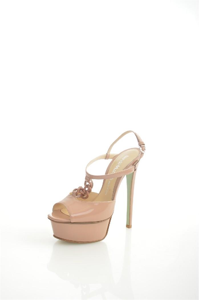 Босоножки Nando MuziЖенская обувь<br>Материал верха: натуральная кожа<br> Материал подкладки: натуральная кожа<br> Материал подошвы: резина, натуральная кожа<br> <br> Высота каблука: 14.5 см<br> Высота платформы: 4 см<br> <br> Страна дизайна: Италия<br> Страна производства: Италия<br><br>Высота каблука: 14.5 см<br>Высота платформы: 4 см<br>Материал: Натуральная кожа<br>Сезон: ЛЕТО<br>Коллекция: Весна-лето<br>Пол: Женский<br>Возраст: Взрослый<br>Цвет: Бежевый<br>Размер RU: 38