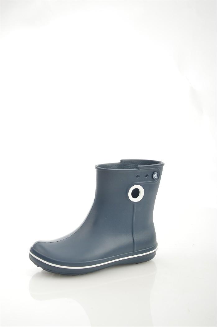 Резиновые полусапоги CrocsЖенская обувь<br>Цвет: синий<br> Состав: croslite<br> <br> Материал подкладки обуви: Без подкладки<br> Габариты предмета (см): высота платформы: 1 см; высота подошвы: 1 см<br> Материал подошвы обуви: полимер<br> Материал стельки: без стельки<br> Вид каблука: без каблука<br> Назначение обуви: повседневная<br> Сезон: демисезон<br> <br> Страна: Соединенные Штаты<br><br>Высота платформы: 1 см<br>Материал: Croslite<br>Сезон: ВЕСНА/ОСЕНЬ<br>Коллекция: Весна-лето<br>Пол: Женский<br>Возраст: Взрослый<br>Цвет: Темно-синий<br>Размер RU: 37