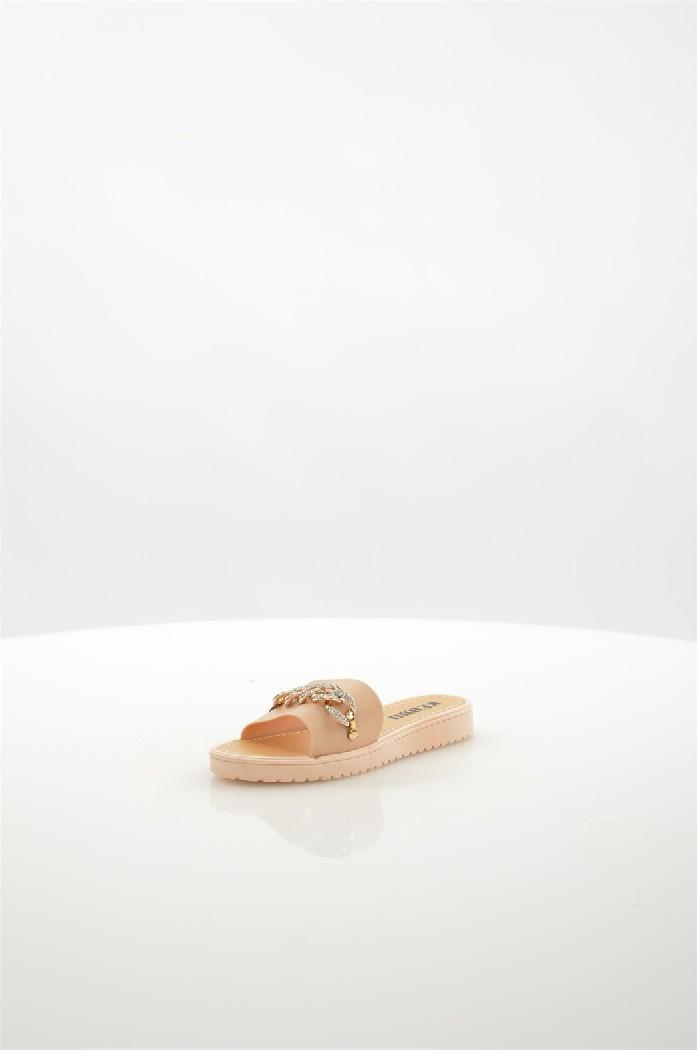 Шлепанцы KEDDOЖенская обувь<br>Цвет: Бежевый<br> Состав: ПВХ 100%<br> <br> Материал подошвы: Полимер<br> Вид застежки: Без застежки<br> Материал подкладки: без подкладки<br> Высота обуви: низкие<br> Вид каблука: без каблука<br> Назначение обуви: повседневная<br> Вид мыска: открытый<br> Сезон: лето<br> Стран...<br><br>Высота каблука: Без каблука<br>Материал: ПВХ<br>Сезон: ЛЕТО<br>Коллекция: (Справочник &quot;Номенклатура&quot; (Общие)): Весна-лето<br>Пол: Женский<br>Возраст: Взрослый<br>Цвет: Бежевый<br>Размер RU: 37