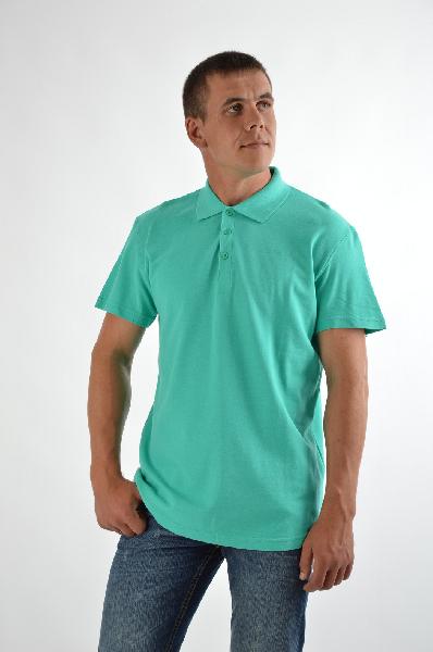 Finn Flare ПолоРубашки, Поло<br>Повседневное поло отличного качества от бренда Finn Flare. Модель прямого кроя выполнена из мягкого хлопкового трикотажа зеленого цвета. Детали: отложной воротник, небольшая пуговичная планка, короткие рукава.<br><br>Состав    100% - Хлопок<br>Длина по спинке    73 см<br>Длина рукава    21 см<br><br>Материал: Хлопок<br>Сезон: МУЛЬТИ<br>Коллекция: Весна-лето<br>Пол: Мужской<br>Возраст: Взрослый<br>Цвет: Бирюзовый<br>Размер INT: XL