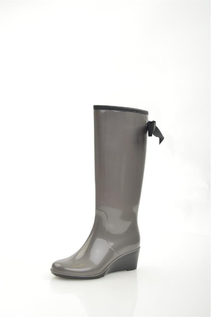 Резиновые сапоги Just CoutureЖенская обувь<br>Цвет: серый<br> Состав: полимер<br> <br> Материал подкладки обуви: Текстиль<br> Высота каблука: 6 см<br> Высота платформы 0.5 см<br> Высота подошвы: 0.5 см<br> Материал подкладки: текстиль<br> Материал подошвы обуви: резина; полимер<br> Материал стельки: текстиль<br> Сезон: демисезон<br> <br> Страна: Италия<br><br>Высота каблука: 6 см<br>Высота платформы: 0.5 см<br>Материал: Полимер<br>Сезон: ВЕСНА/ОСЕНЬ<br>Коллекция: Весна-лето<br>Пол: Женский<br>Возраст: Взрослый<br>Цвет: Серый<br>Размер RU: 38