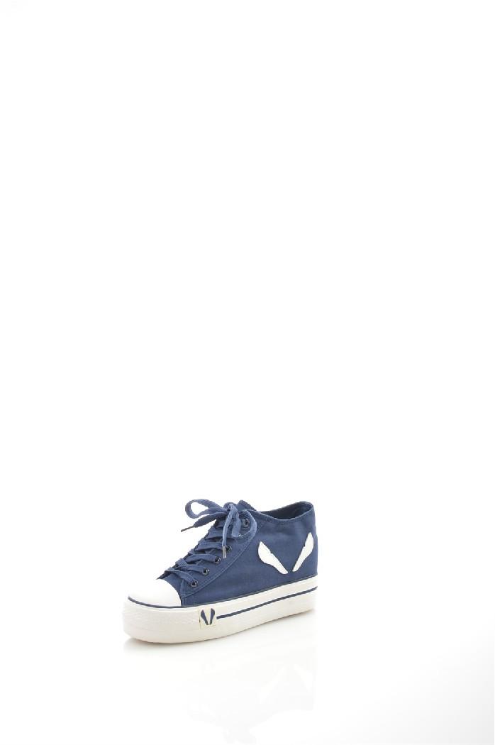 Кеды WSЖенская обувь<br>Цвет: синий<br> Состав: текстиль,резина<br> <br> Материал подкладки обуви: Текстиль<br> Материал подошвы обуви: каучук<br> Материал стельки: текстиль<br> Сезон: лето<br> <br> Страна: Россия<br><br>Материал: Текстиль<br>Сезон: ЛЕТО<br>Коллекция: Весна-лето<br>Пол: Женский<br>Возраст: Взрослый<br>Цвет: Синий<br>Размер RU: 37