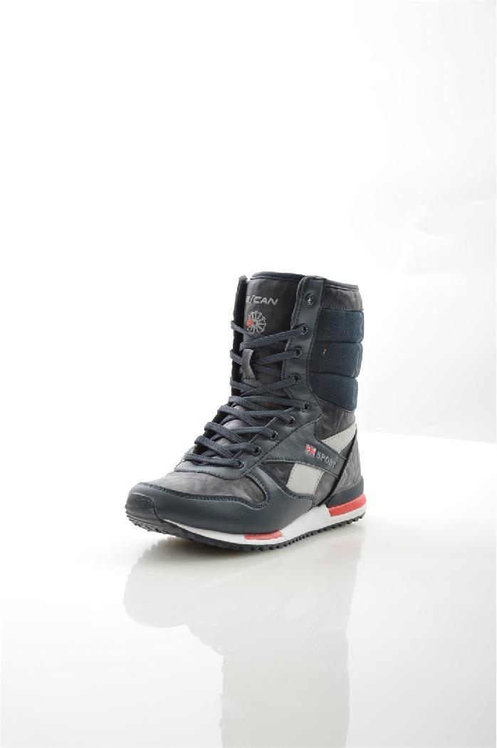 Кроссовки EscanЖенская обувь<br>Детали: шнуровка; внутренняя отделка из искусственного меха; подошва из искусственного материала.<br> <br> Материал верха искусственная замша, искусственная кожа<br> Внутренний материал искусственный мех<br> Материал стельки искусственный мех<br> Материал подошвы полимер<br> Высота голенища / задника 17.5 см<br> <br> Цвет синий<br> Сезон Зима<br> Коллекция Осень-зима<br><br>Высота каблука: Без каблука<br>Высота голенища / задника: 17 см<br>Материал: Искусственная замша<br>Сезон: ЗИМА<br>Коллекция: Осень-зима<br>Пол: Женский<br>Возраст: Взрослый<br>Цвет: Черный<br>Размер RU: 38