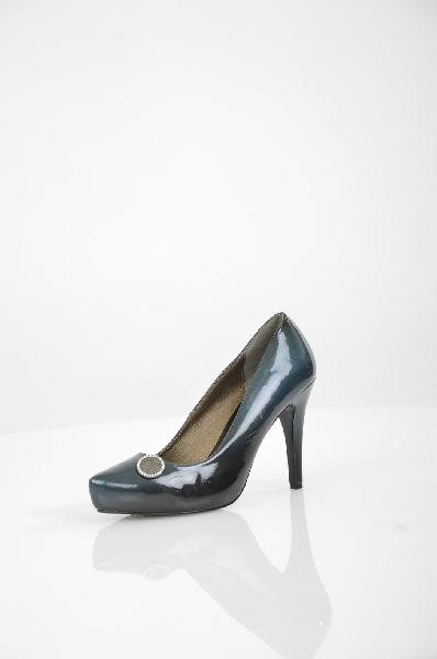Туфли SWISH JEANSЖенская обувь<br>Цвет: темно-синий<br> Состав: 100% эко-кожа<br> Особенности: Узкий носок. Резиновая подошва. Обтянутый каблук.<br> Страна дизайна:Италия<br> Страна производства: Италия<br><br>Материал: Эко-кожа<br>Сезон: ЛЕТО<br>Коллекция: Весна-лето<br>Пол: Женский<br>Возраст: Взрослый<br>Цвет: Черный<br>Размер RU: 38