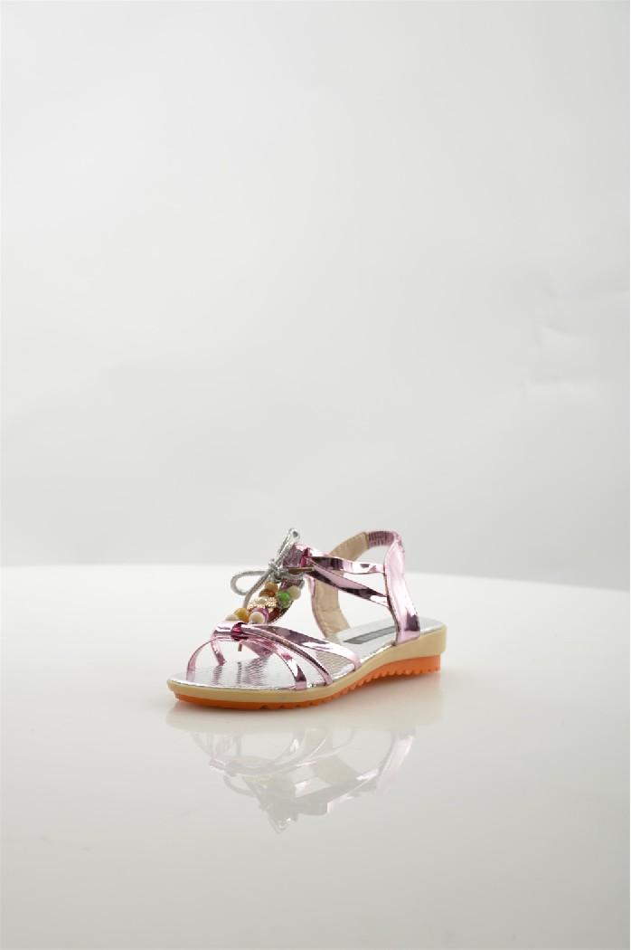 Босоножки Vita RiccaЖенска обувь<br>Цвет: розовый<br> Материал верха: колак<br> Материал подкладки: серебрна кокожа<br> Материал стельки: серебрна кокожа<br> Материал подошвы: тунит<br> Высота каблука: 3 см<br> Цвет и обтжка каблука: бежевый<br> Местоположение логотипа: стелька<br> Уход за изделием: протирать губкой<br> <br> Страна: Итали<br><br>Высота каблука: 3 см<br>Материал: Эко-кожа<br>Сезон: ЛЕТО<br>Коллекци: Весна-лето<br>Пол: Женский<br>Возраст: Взрослый<br>Цвет: Белый<br>Размер RU: 38