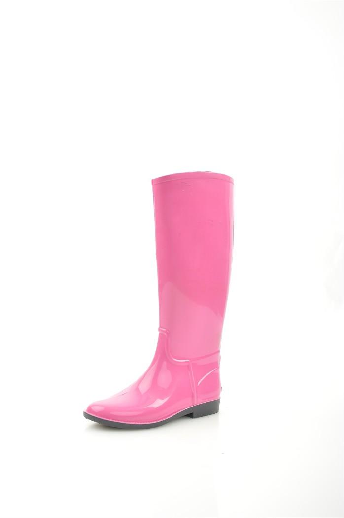 Резиновые сапоги ANRAРезиновые сапоги<br>Цвет: розовый<br> Состав: ПВХ<br> <br> Фактура материала: гладкий<br> Высота голенища: 41 см<br> Обхват голенища: 40 см<br> Высота подошвы: 0.8 см<br> Высота каблука: 2.5 см<br> Материал подошвы обуви: ПВХ<br> Материал стельки: искусственный материал<br> Тип подошвы: рифленая<br> Сезон: демисезон<br> <br> Страна бренда: Россия<br> Страна производитель: Россия<br><br>Высота каблука: 2.5 см<br>Высота платформы: 0.8 см<br>Объем голени: 40 см<br>Высота голенища / задника: 41 см<br>Материал: ПВХ<br>Сезон: ВЕСНА/ОСЕНЬ<br>Коллекция: Весна-лето<br>Пол: Женский<br>Возраст: Взрослый<br>Цвет: Розовый<br>Размер RU: 38