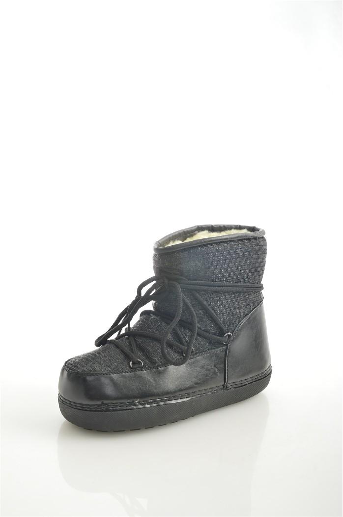 Луноходы ExquilyЖенская обувь<br>Материал верха: искусственная кожа, текстиль<br> Внутренний материал: искусственный мех<br> Материал подошвы: резина<br> Материал стельки: искусственный мех<br> Высота голенища / задника: 15 см<br> Обхват голенища: 38 см<br> Сезон: зима<br> Цвет: черный<br> Застежка: на шнурках<br> <br> Страна бренда: Польша<br> Страна производства: Китай<br><br>Объем голени: 38 см<br>Высота голенища / задника: 15 см<br>Материал: Искусственная кожа<br>Сезон: ЗИМА<br>Коллекция: Осень-зима<br>Пол: Женский<br>Возраст: Взрослый<br>Цвет: Черный<br>Размер RU: 37