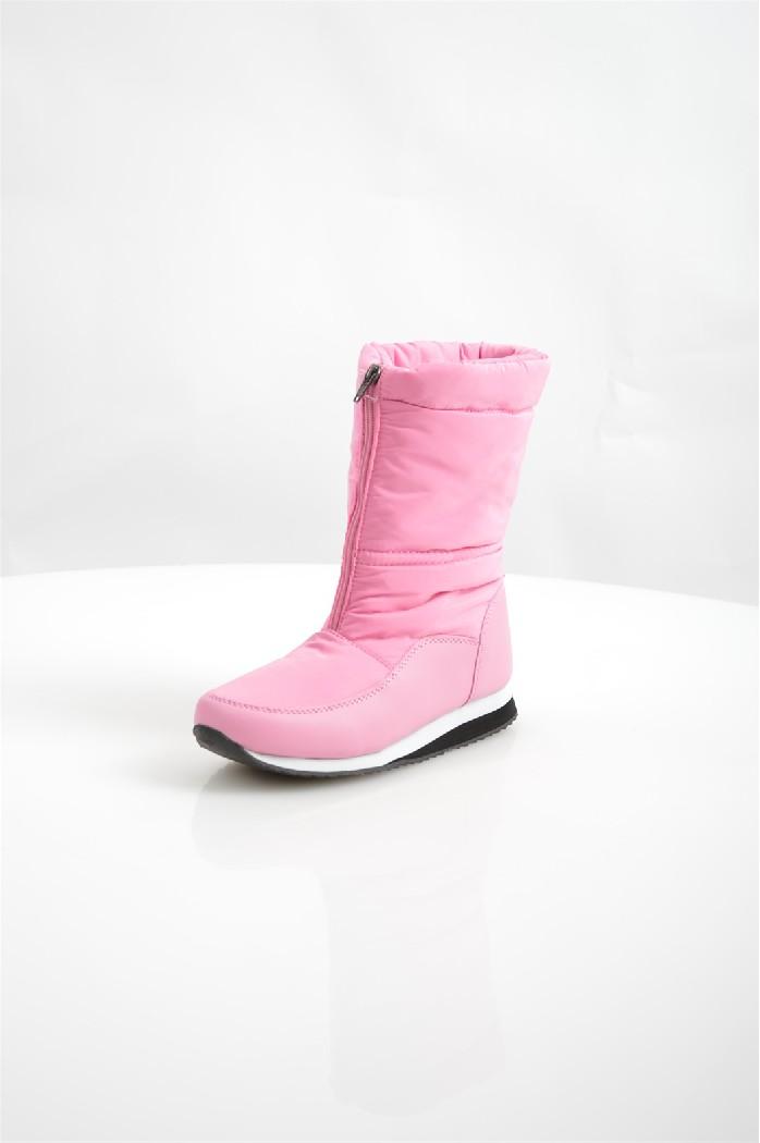 Дутики No Limits No WayЖенская обувь<br>Дутики No Limits No Way выполнены из искусственной кожи и непромокаемого текстиля, подкладка и стелька из искусственного меха.<br> <br> Материал верха: искусственная кожа, текстиль<br> Внутренний материал: искусственный мех<br> Материал подошвы: полимер<br> Материал стельки: искусственный мех<br> Высота голенища / задника: 22 см<br> Сезон: зима<br> Цвет: розовый<br> Застежка: на молнии<br><br>Высота голенища / задника: 22 см<br>Материал: Искусственная кожа<br>Сезон: ЗИМА<br>Коллекция: Осень-зима<br>Пол: Женский<br>Возраст: Взрослый<br>Цвет: Розовый<br>Размер RU: 38