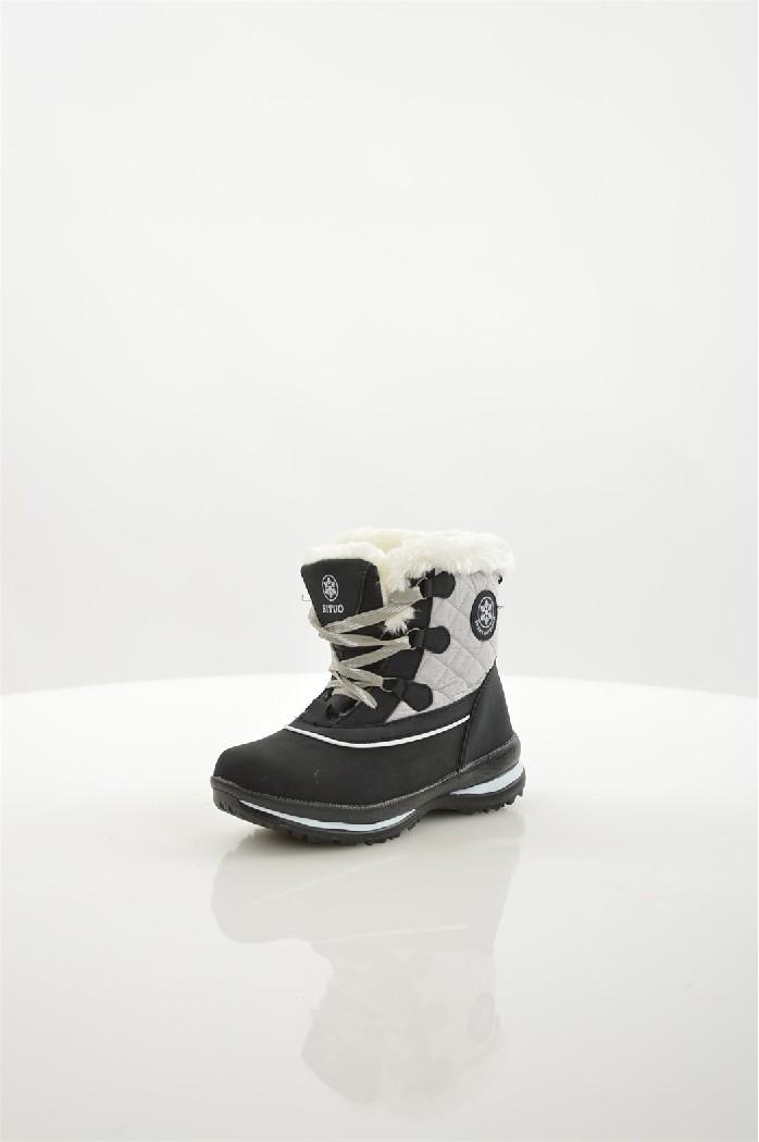 Дутики Mon AmiЖенская обувь<br>Цвет: черный<br> Состав: искусственный нубук 100%<br> <br> Вид застежки: Шнуровка<br> Материал подошвы: Искусственный материал: 100%<br> Материал стельки: Искусственный мех: 100%<br> Высота каблука: высота: 3 см<br> Материал подкладки: искусственный мех<br> Вид каблука: без каблука<br> Форма мыска: круглый<br> Сезон: зима<br> Пол: Женский<br> Страна бренда: Россия<br> Страна производитель: Россия<br><br>Высота каблука: 3 см<br>Материал: Искусственный нубук<br>Сезон: ЗИМА<br>Коллекция: Осень-зима<br>Пол: Женский<br>Возраст: Взрослый<br>Цвет: Черный<br>Размер RU: 37