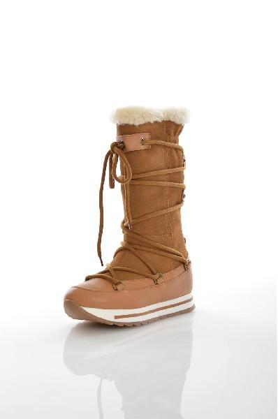 Дутики AldoЖенская обувь<br>Дутики Aldo выполнены из коричневого спилка. Детали: шнуровка, вставки из натуральной кожи, отделка искусственным мехом, внутренний материал и стелька из искусственного меха, резиновая подошва.<br> <br> Материал верха искусственный мех, натуральная кожа, спил...<br><br>Высота платформы: 3 см<br>Высота голенища / задника: 27.5 см<br>Материал: Натуральная кожа<br>Сезон: ЗИМА<br>Коллекция: (Справочник &quot;Номенклатура&quot; (Общие)): Осень-зима<br>Пол: Женский<br>Возраст: Взрослый<br>Цвет: Коричневый<br>Размер RU: 37.5