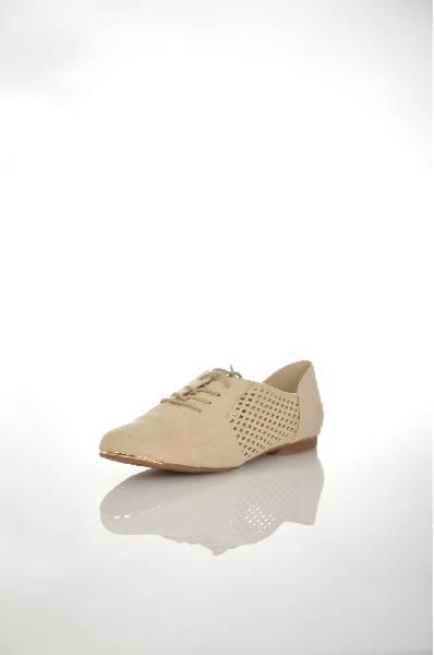 Ботинки AldoЖенская обувь<br>Ботинки от Aldo выполнены из бархатистого текстиля бежевого цвета. Детали: стелька из искусственной кожи; шнуровка; перфорация.<br> <br> Цвет: бежевый<br> Сезон: Лето<br> Коллекция: Весна-лето<br> Материал верха: текстиль<br> Внутренний материал: текстиль<br> Материал стельки: искусственная кожа<br> Материал подошвы: резина<br> <br> Страна: Канада<br><br>Материал: Текстиль<br>Сезон: ЛЕТО<br>Коллекция: Весна-лето<br>Пол: Женский<br>Возраст: Взрослый<br>Цвет: Бежевый<br>Размер RU: 37